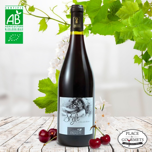 Domaine Corinne Depeyre cuvée Style vin rouge Côtes-du-Rhône bio 2016