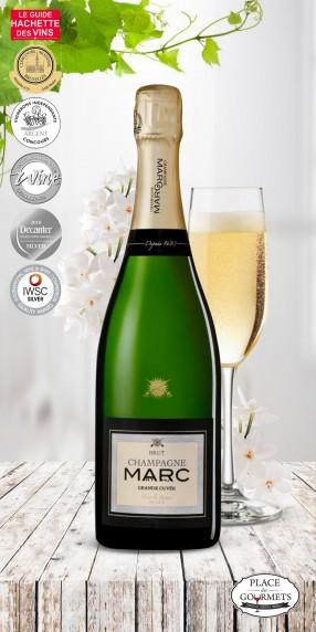 Champagne Marc brut grande cuvée