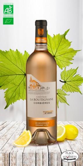 Château la Boutignane rosé bio