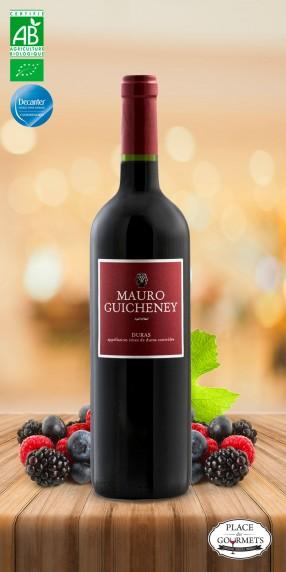 Mauro Guicheney vin rouge bio Côtes de Duras