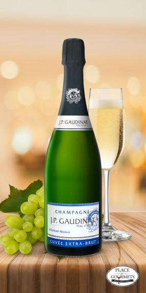 Champagne extra brut JP Gaudinat