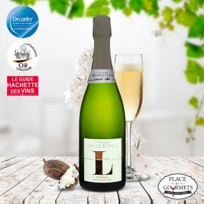 Champagne vegan extra brut Legret & Fils Minéral