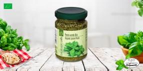 Pesto bio au basilic