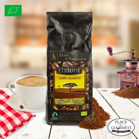 Café bio moulu Max Havelaar 100% Arabica (Éthiopie)