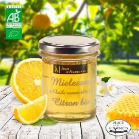 Miel aux huiles essentielles de citron bio