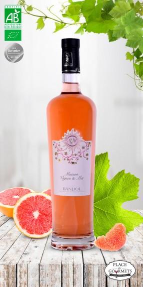 Maison vignes & mer vin vin rosé bio 2016 Bandol bio