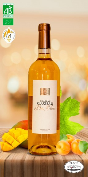 Château Cluzeau Le Bois Blanc vin bio