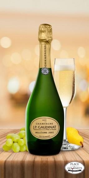 Champagne millésimé JP Gaudinat Elitiste 2002